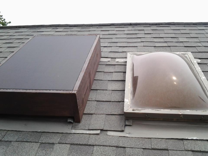 Custom Made Sky Light Solar Covers